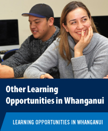 Other Learning Opportunities in Whanganui