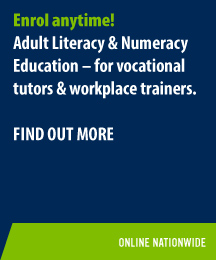 NZCALNE L5 - for vocational tutors & workplace trainers